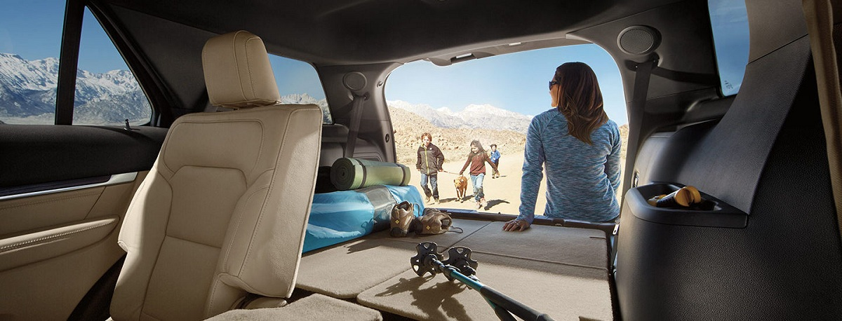 Chuyển khoang hành khách thành khoang chứa đồ Trên Ford Explorer