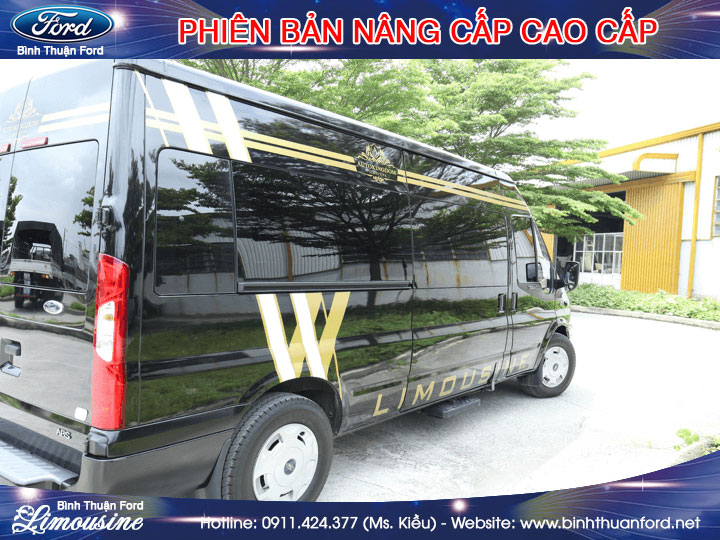 giá xe ford transit limousine cao cấp