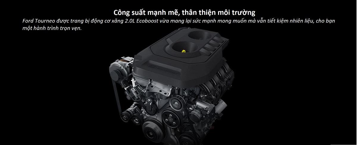 Động Cơ Máy Ecoboost Ford Tourneo Mới
