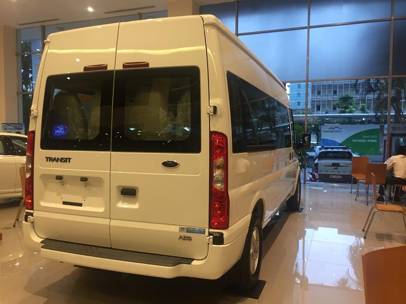 Ford Transit Luxury Màu Trắng Cao Cấp